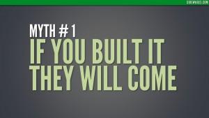 Myth 01: Splash Slide - Top 10 Myths Business Website - Sidewages
